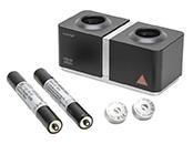 Zubehör: Batterie-/griffe   Ladegeräte