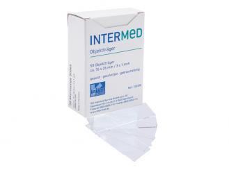 INTERMED Objektträger ohne Mattrand, 1x50 Stück