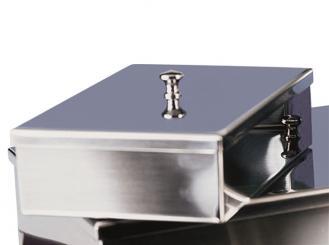 Instrumentenschale mit Knopfdeckel 16 x 9 x 3,5 cm (L x B x H) 1x1 Stück