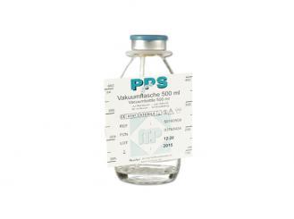PPS Vakuumflasche 500 ml 1x10 Stück