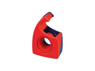 tesa® Handabroller Easy Cut® 19 mm x 10 m (B x L), rot / blau, leer 1x1 Stück