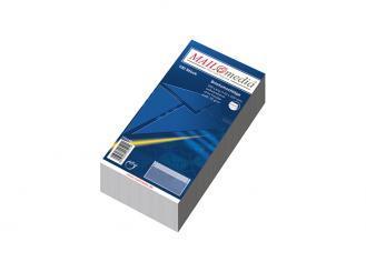 Briefumschlag DIN lang 220 x 110 mm (B x H) ohne Fenster weiß sk MAILmedia 1x100 Stück