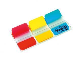 Post-it® Haftstreifen Index Strong 686 rot/gelb/blau 3x22 Blatt 1x66 Stück