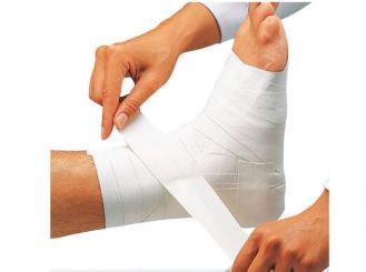 Omnitape® ,3,75cmx10m, weiß, stark klebendes Pflasterband,unelastisch, sehr zugfest, leicht reißbar, auf Kunststoffspule 1x1 Rollen