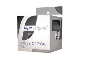 Kinesiologie Tape original, schwarz, 5 m x 5 cm 1x1 Rollen