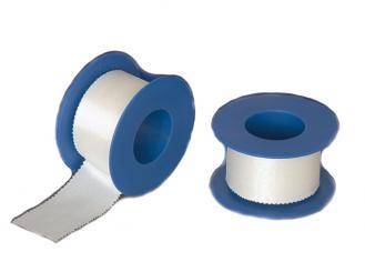 INTERMED Silk Verbandpflaster, 5 m x 1,25 cm 1x18 Rollen