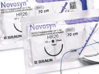 NOVOSYN® QUICK HR26 USP 3/0, metric 2 70 cm violett 1x36 Stück