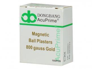 Dongbang Magnetkugeln vergoldet 10x10 Stück