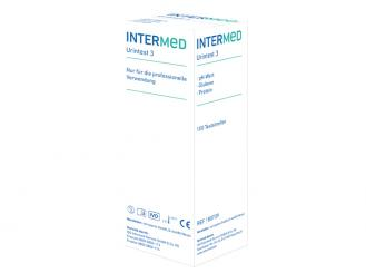 INTERMED Urintest 3 1x100 Teste