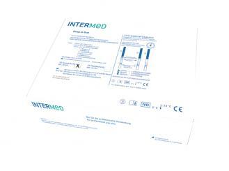 INTERMED Strep-A-Test, Teststreifenversion 1x10 Teste