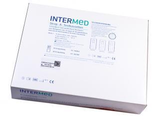 INTERMED Strep-A-Test, Testkartenversion 1x10 Teste
