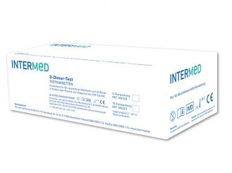 INTERMED D-Dimer-Test, Testkassetten 1x10 Teste