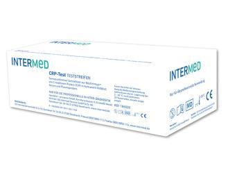 INTERMED CRP - Test, Teststreifen 1x20 Teste
