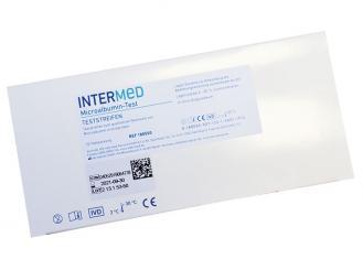 INTERMED Microalbumin Schnelltest, Streifenversion 1x10 Teste