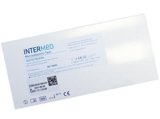 INTERMED Microalbumin Schnelltest, Streifenversion 1x25 Teste