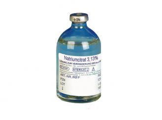 Natriumcitrat 3,13 % 1x100 ml
