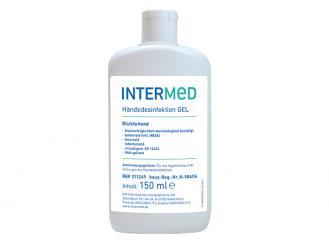 INTERMED Händedesinfektion GEL, rückfettend, viruzid 1x150 ml