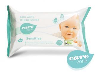 Baby Wipes sensitive Care zone 18 x 20 cm 1x80 Stück