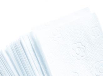 Fripa Handtücher Hochweiß, 25 x 23 cm, 20 x 150 Blatt, 1x3000 Tücher