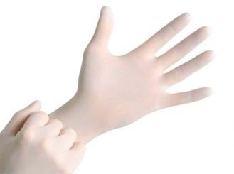 MaiMed®-solution PF Nitril, latexfreie Nitril-Handschuhe, weiß, Gr. XL 1x200 Stück