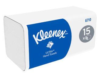 KLEENEX® Ultra Falthandtücher 3-lagig 15x96 Stück