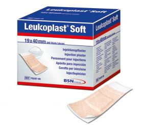 Leukoplast Soft, Injektionspflaster, 19 x 40 mm 1x100 Stück
