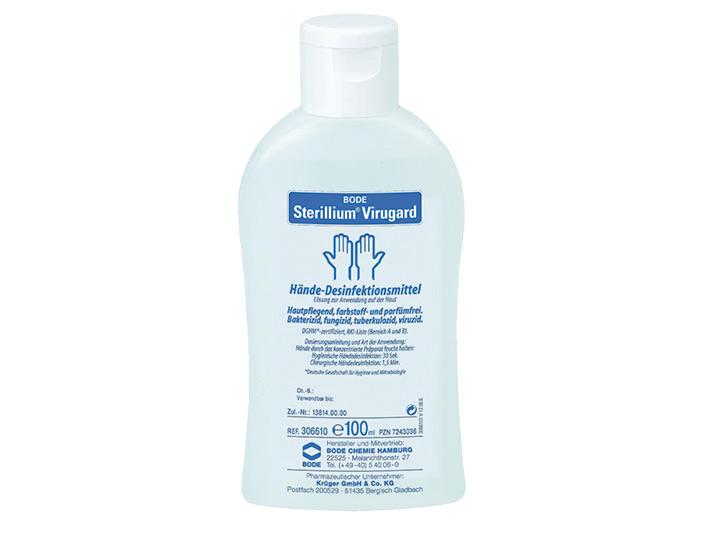 Sterillium® Virugard 1x100 ml | CATHAMED Ärztebedarf